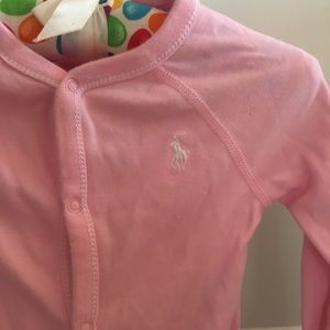 Ralph Lauren Baby Footed One Piece 9 Mos